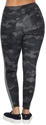 Lysse Medium Control Greenwich Camo Denim Leggings