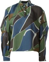 Kolor abstract print shirt
