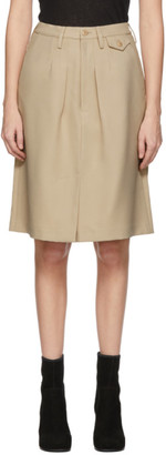 BEIGE Random Identities Chino Skirt