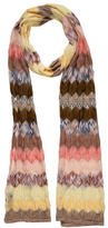 Missoni Mulitcolor Pattern Scarf