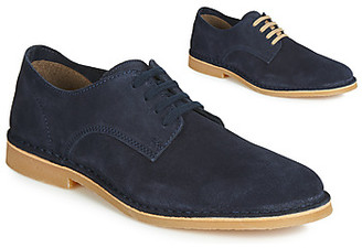 Selected ROYCE DERBY LIGHT SUEDE men's Casual Shoes in Blue