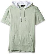 Akademiks Men's Baretto Short Sleeve Hoody