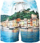 MC2 Saint Barth printed swim shorts - men - Polyester - S