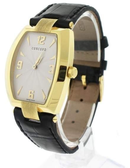 Concord La Scala 50.G3.1480 18K Yellow Gold Quartz 32mm Unisex Watch
