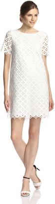 Catherine Malandrino Women's Courtney Dress Blanc Dress 10
