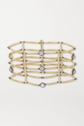 Jessica McCormack Chi Chi 18-karat Gold Diamond Bracelet - One size