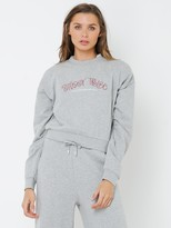 Stussy Curly Tribe Cropped Sweatshirt