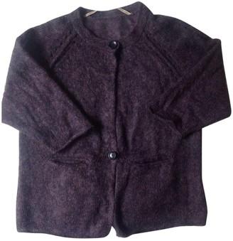 Humanoid Purple Wool Knitwear