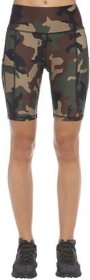 R 13 Camo Tech Jersey Biker Shorts