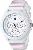 Tommy Hilfiger Women's 1781426 Rubber Quartz Watch