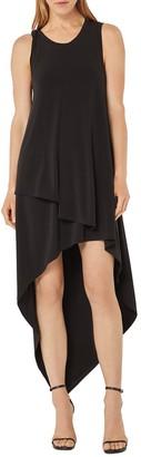 BCBGMAXAZRIA HIgh/Low Sleeveless Dress