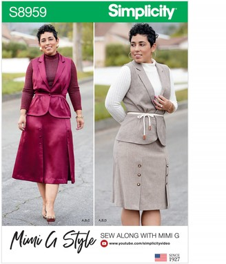 Simplicity Mimi G Co-Ords Sewing Pattern, 8959