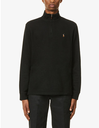 Polo Ralph Lauren Estate half-zip cotton jumper