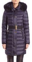Burberry Abbeydale Fur-Trim Puffer Jacket