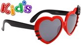 CST Kid Sized Heart Shaped Sunglasses W/ Colored Bow Many Colors Girls Baby