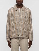 Ami Hooded Zipped Jacket