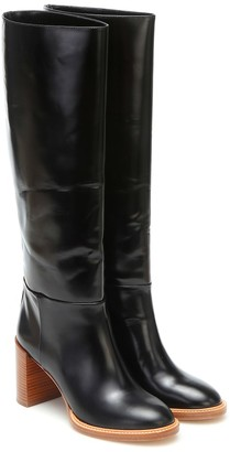 Gabriela Hearst Bocca leather knee-high boots