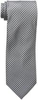 Geoffrey Beene Men's Dot It Extra Long Tie