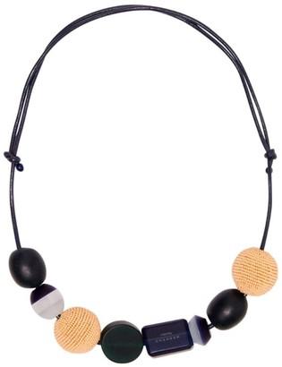Max Mara Beaded Necklace