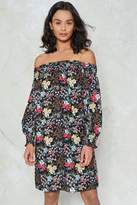 Nasty Gal Stretch the Rules Floral Dress