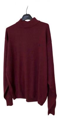 Polo Ralph Lauren Burgundy Wool Knitwear & Sweatshirts