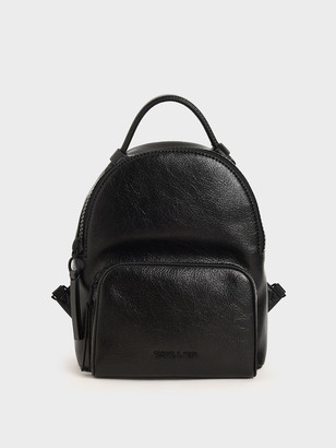 Charles & Keith Double Zip Backpack