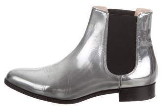 Aquatalia Metallic Chelsea Boots