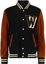 Wrangler BABE BASEBALL Bomber Jacket black