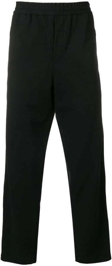 McQ straight leg elastic trousers