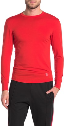 Topo Designs Wool Blend Long Sleeve T-Shirt (Size Small)