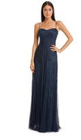 JS Collections Lace Flutter Dress 864447