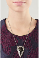 Pamela Love Pave Arrowhead Pendant Necklace