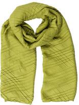 Loro Piana Pleated Cashmere Scarf