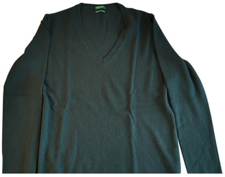 Benetton Green Cashmere Knitwear