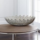 Crate & Barrel Starburst Bowl
