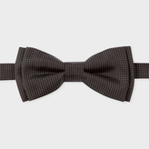 Paul Smith Men's Black 'Micro-Dot' Silk Bow Tie