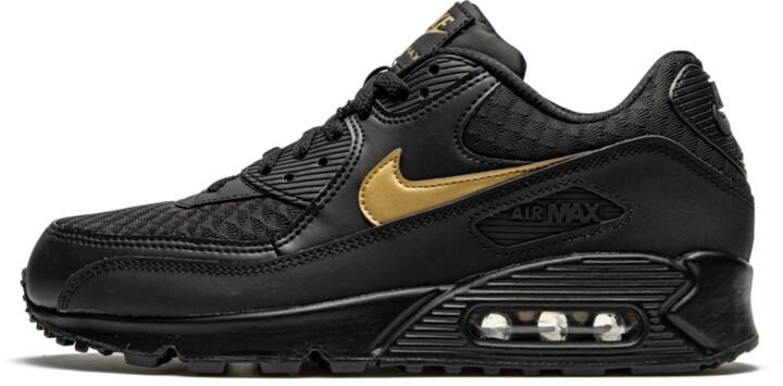 air max 90 black and gold