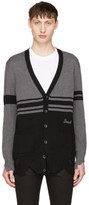 Diesel Black & Grey K-Obain Cardigan