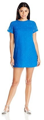 Lucy-Love Lucy Love Women's Charlotte Lace Shift Dress