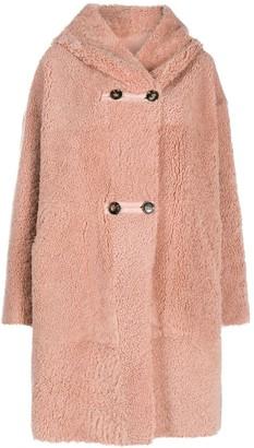 Sylvie Schimmel Shearling Hooded Coat
