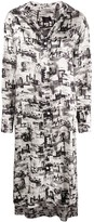Joseph Gaya montage-print shirt dress