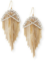 Alexis Bittar Opaline Winter Lattice Wire Earrings