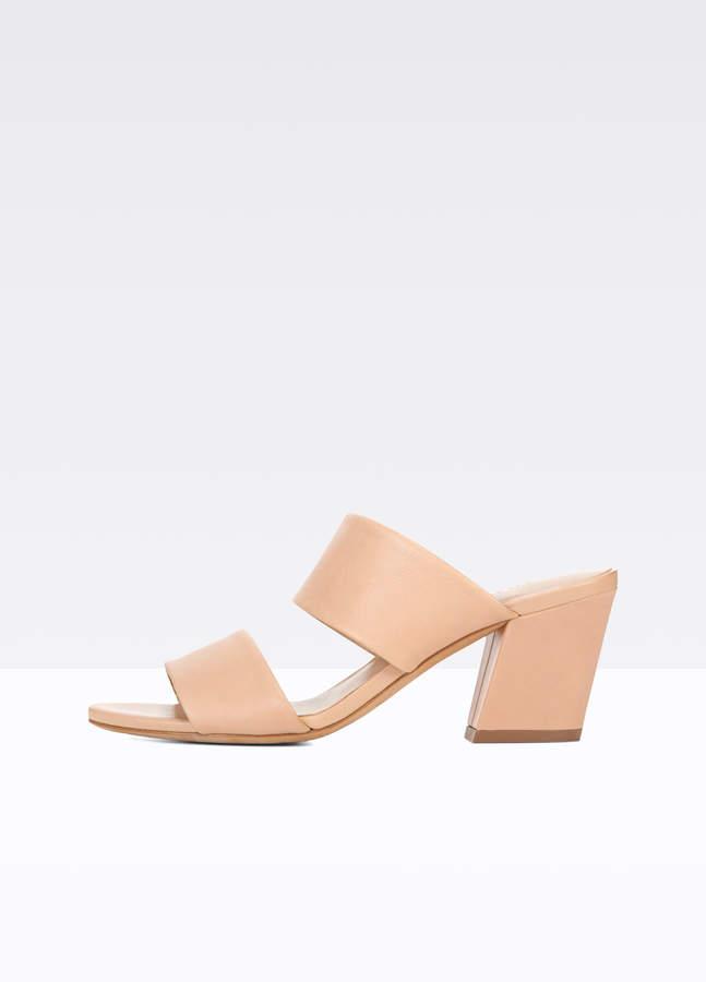 Benetta Leather Mules