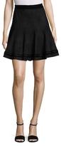 T Tahari Carlisle Solid Skirt