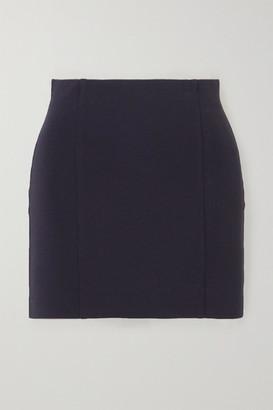 GAUGE81 Malibu Stretch-crepe Mini Skirt - Navy