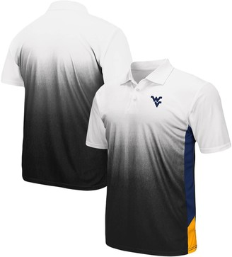 Colosseum Men's Gray West Virginia Mountaineers Magic II Polo