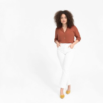 Everlane The Clean Silk Notch Shirt