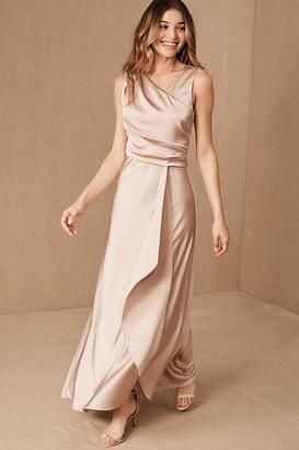 Taylor BHLDN Espen Dress By in Beige Size 4