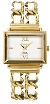 Freelook Women's HA1083G-9 White Dial Gold Tone Stainless Steel Watch