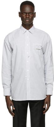 Ader Error White Cinder Pocket Shirt